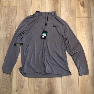 Nike Gray Pullover Long Sleeve Brand New Size XL